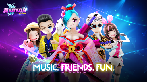 AVATAR MUSIK WORLD - Music and Dance Game 1.0.1 Screenshots 8