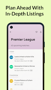 Live Football On TV Guide Apk 2021 5