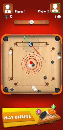 Carrom Star : Multiplayer Carrom board game 1.8 screenshots 5