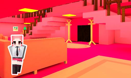 Pink Princess House Craft Game 2.7 screenshots 5