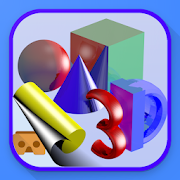 Simple 3D Shapes Objects Games: Geometry shape