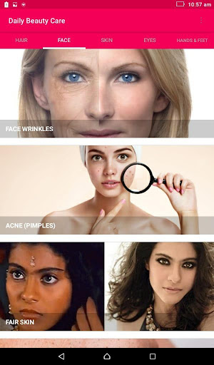 Skin and Face Care - acne, fairness, wrinkles 2.2.0 Screenshots 9