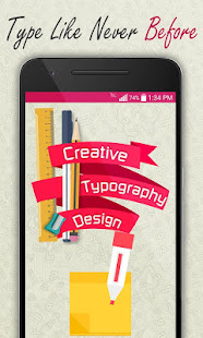 Creative Typography Design 3.9 Screenshots 1