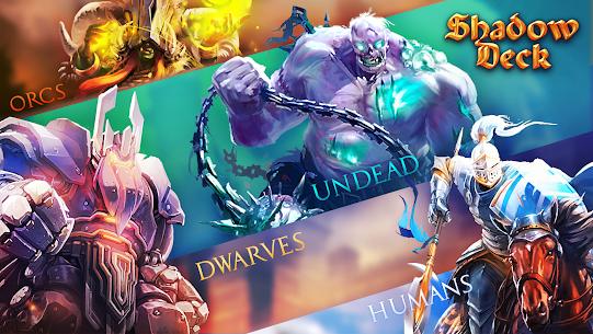 Shadow Deck: Magic Heroes Card Legacy CCG arena 3