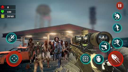 Dead Strive: Zombie Survival FPS Shooting For Android 3