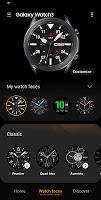 screenshot of Galaxy Watch3 Plugin