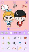 My Webtoon Character Mini - K-pop IDOL avatar