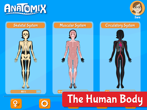 Anatomix - Human Anatomy screenshots 9