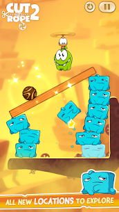 Cut the Rope 2 Mod Apk [All Levels Unlocked] 5
