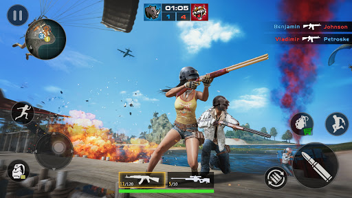 FPS Encounter Strike 2020: New Gun Shooting Games screenshots 2