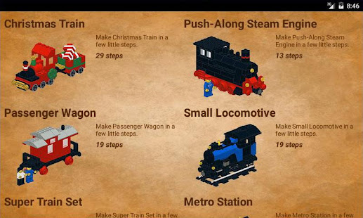 trains in bricks hack