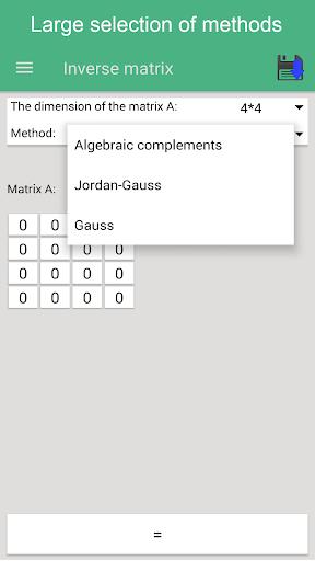 matrix operations premium screenshot 2