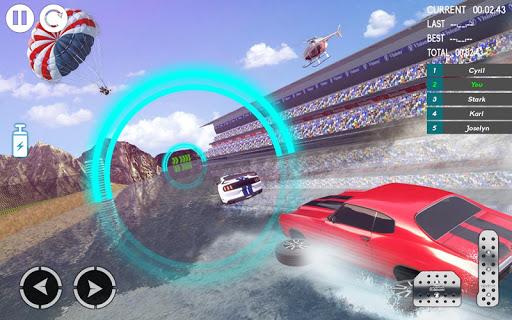 Water Car Stunt Racing 2019: 3D Cars Stunt Games 2.0 screenshots 21