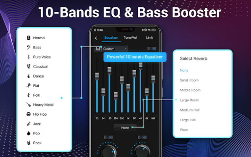 Music Player - Audio Player & 10 Bands Equalizer 1.8.1 Screenshots 13