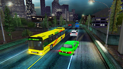 Modern Bus Drive :Hill Station  screenshots 9
