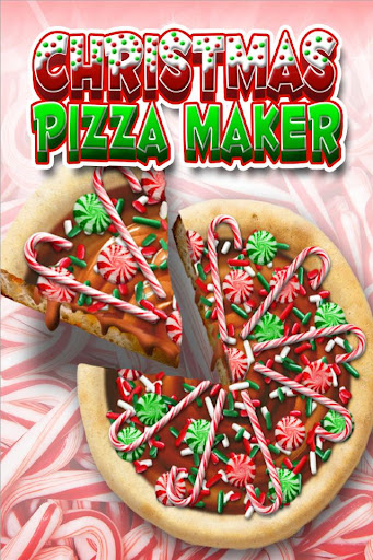 Christmas Candy Pizza Maker Fun Food Cooking Game  screenshots 1
