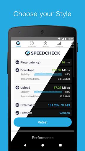Simple Speedcheck android2mod screenshots 9