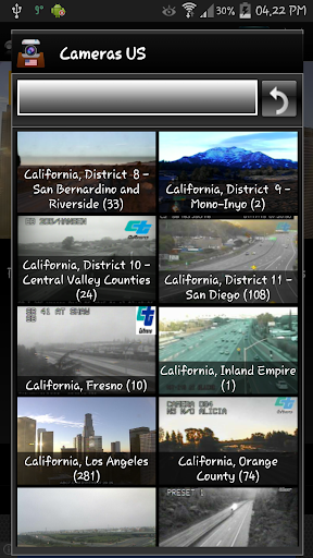 Cameras US - Traffic cams USA 8.6.2 screenshots 2