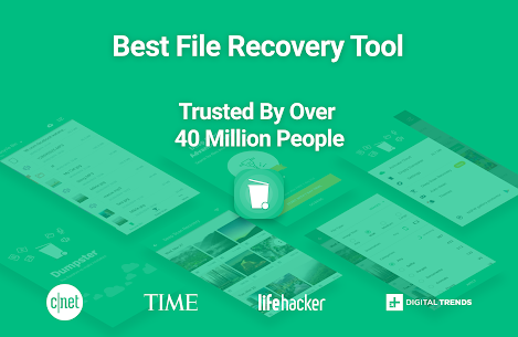 Dumpster Bin File Recovery. Restore Deleted Videos 1