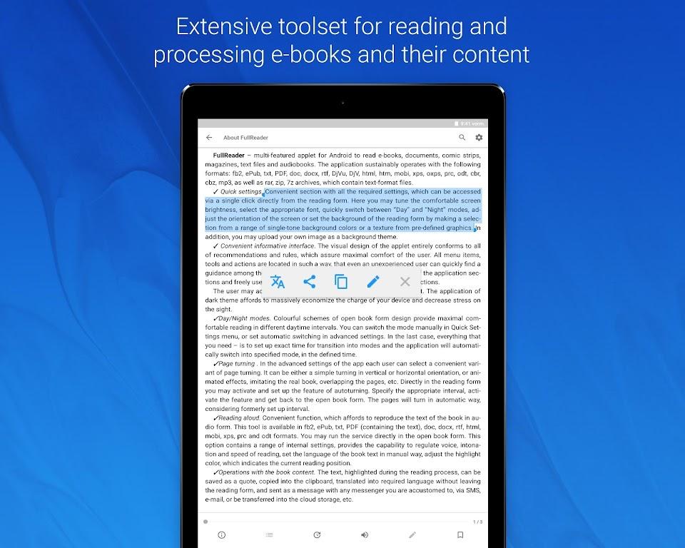 FullReader - all e-book formats reader  poster 19
