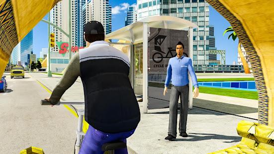 BMX Bicycle Taxi Driving City Passenger Simulator 1.2 Screenshots 6