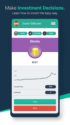 Money Race Finance and Investing Game  screenshots 3