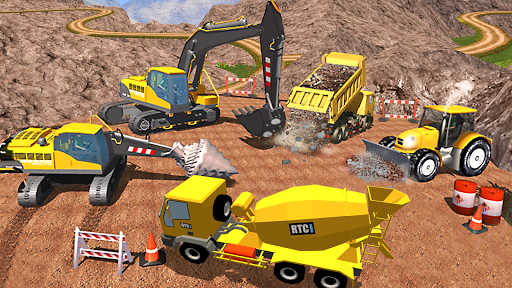 Construction Simulator Heavy Truck Driver Apkfinish screenshots 6