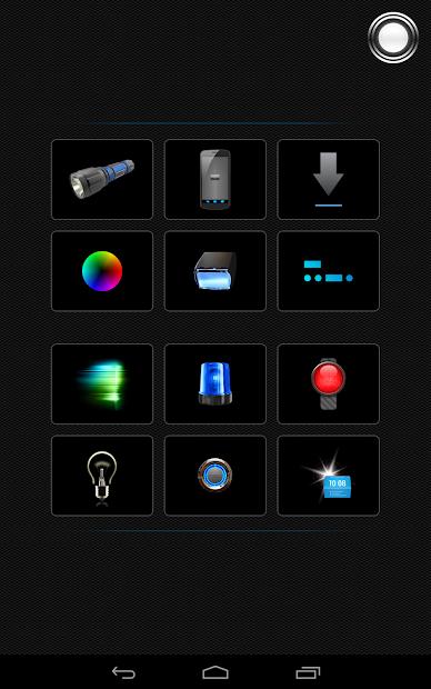 Screenshot 10 de Linterna - Tiny Flashlight ® para android