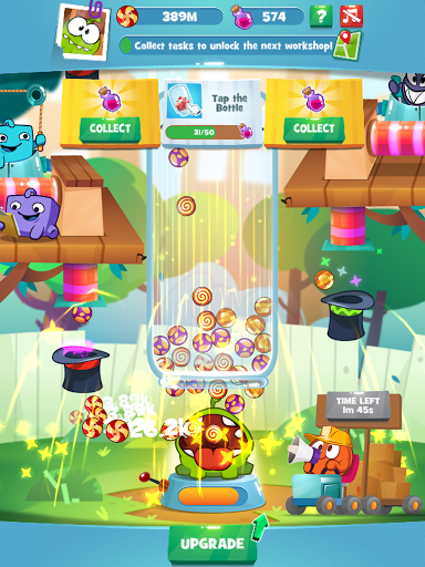 Om Nom Idle Candy Factory modavailable screenshots 5
