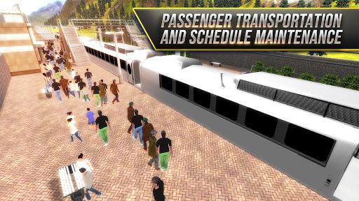 high speed trains - locomotive screenshot 3