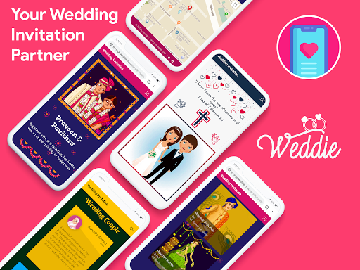 Weddie - Free Wedding Websites & Video Invitations 1.5.6 Screenshots 8
