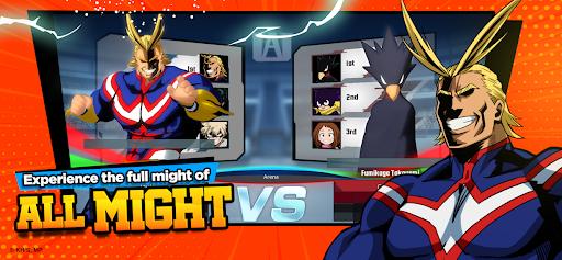 My Hero Academia: The Strongest Hero Anime RPG Apkfinish screenshots 5