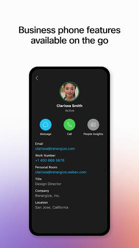 Webex android2mod screenshots 7
