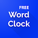 Word Clock Widget Free - Simple Clock Widget free - Androidアプリ