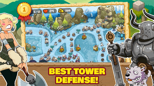 Tower Defense Realm King: Epic TD Strategy Element  screenshots 2