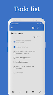 Smart Note Mod Apk- Notes, Notepad, Todo (Premium Features Unlocke) 6