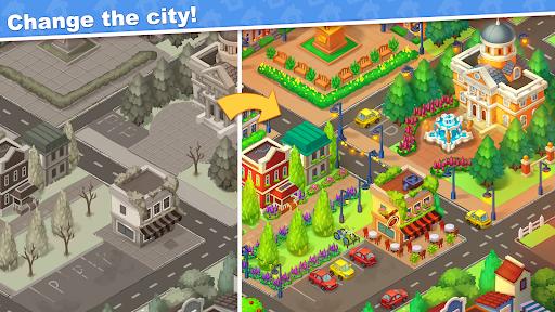 Town Blast: City Restoration - Blast Game & Puzzle  screenshots 4