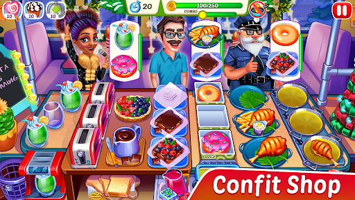 Christmas Fever : Cooking Games Madness modavailable screenshots 8