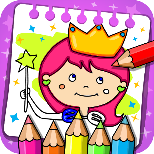 Princess Coloring Book & Games