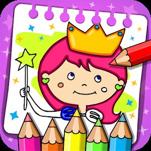 Princess Coloring Book &amp Games