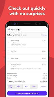 Grubhub: Local Food Delivery & Restaurant Takeout Screenshot