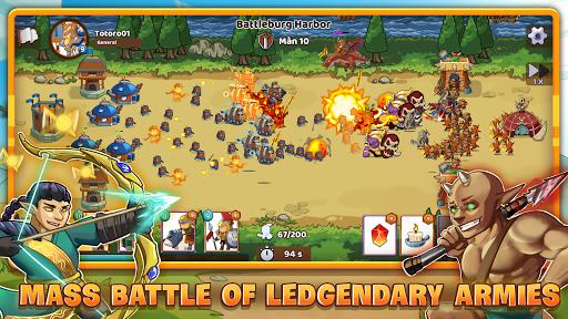 Clash of Legions - Kingdom Rise  screenshots 1
