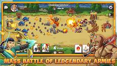 Mega War - Clash of Legionsのおすすめ画像1