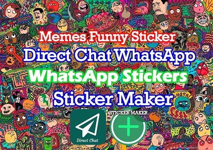Troll Face Memes Funny Sticker Maker Direct Chat Apk Download 2021 4