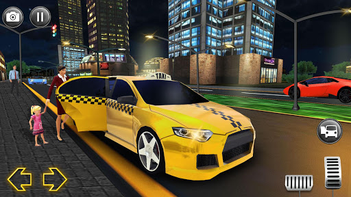 Modern City Taxi Simulator: Car Driving Games 2020 apkpoly screenshots 1