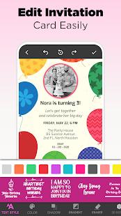 Invitation Maker Free - Birthday & Wedding Card 9.0 Screenshots 13