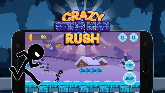 Crazy Stickman Rush Hack for iOS and Android 3