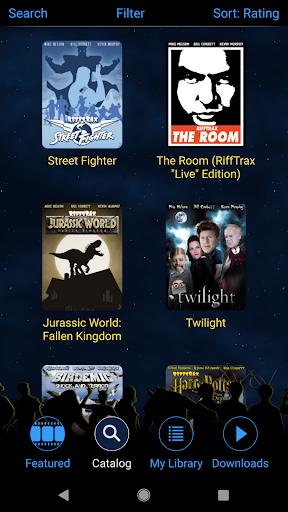 RiffTrax - Movies Made Funny! screenshots 2