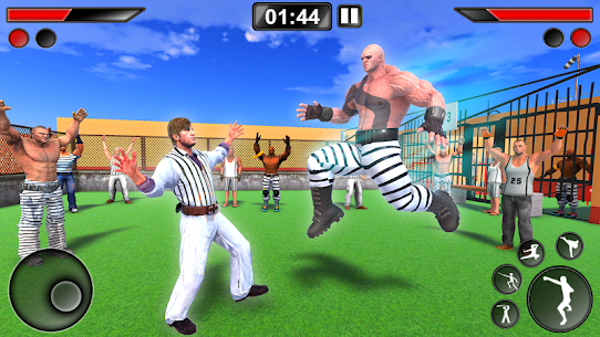 Grand Prison Ring Battle – Karate Fighting Games Hack Online (Android iOS) 1