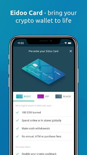 Eidoo: Bitcoin and Ethereum Wallet and Exchange 2.14.0 Screenshots 3